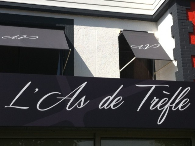Restaurant l'As de Trèfle-Calvados, chef Anthony Vallette.Cuisine créative.