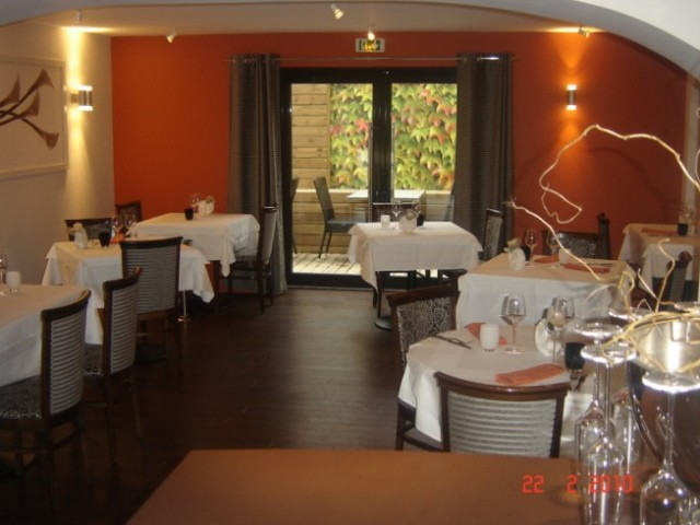 Restaurant l'As de Trèfle-Calvados, chef Anthony Vallette.Cuisine créative.